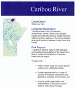 Caribou River Plan 1